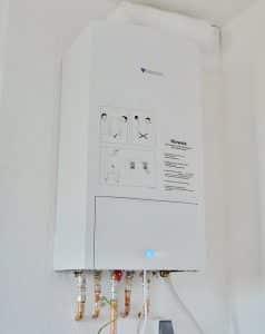 ACS para tu casa con calentador a gas