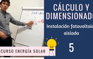 calculo instalacion fotovoltaica