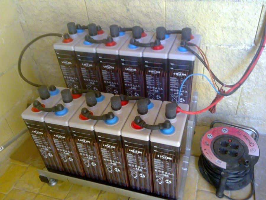 Mantenimiento baterías fotovoltaica