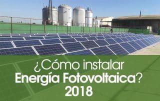 como instalar energia fotovoltaica