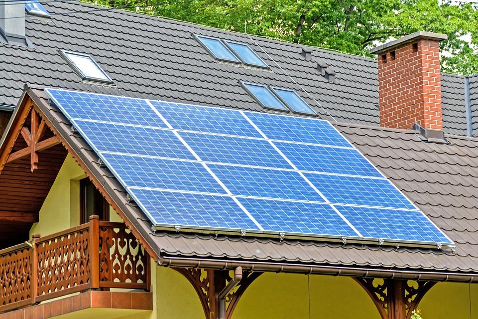 paneles solares, tejado fotovoltaico