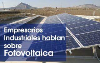 Fotovoltaica para autoconsumo en Alicante