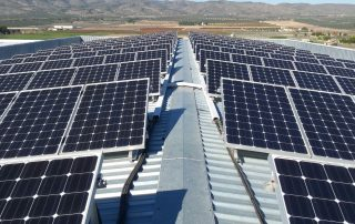 Instalación fotovoltaica en Cañada (Alicante)