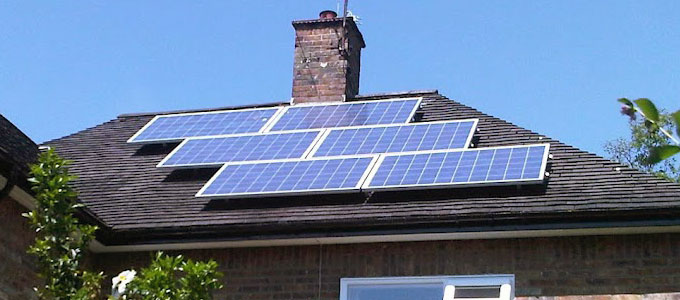 Casa solar fotovoltaica