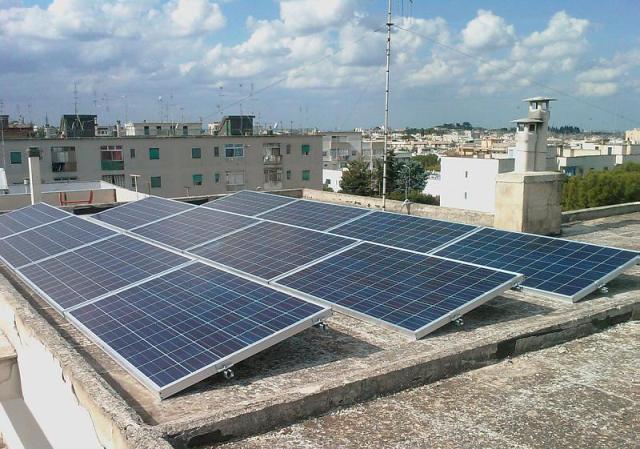 Energía solar urbana