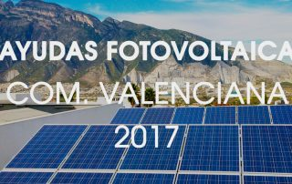 ayudas fotovoltaica paneles solares