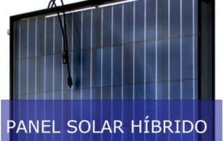 Paneles solares híbrido