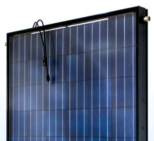 Placa solar híbrida