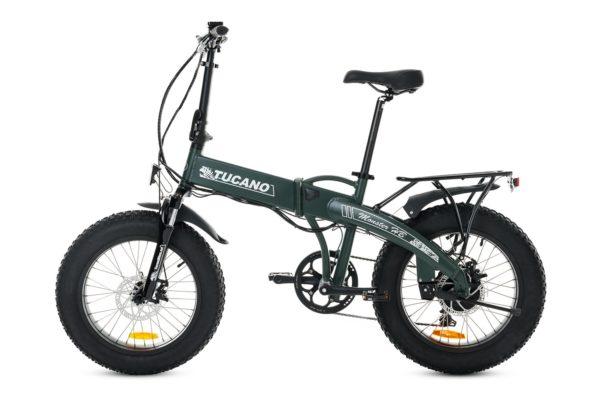 Bicicleta eléctrica de montaña y plegable