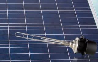 Fotovoltaica y agua caliente