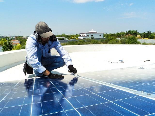 Trabajo en energía solar