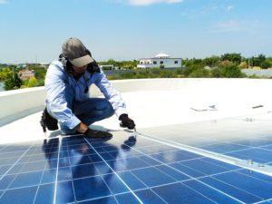 Montaje placas solares