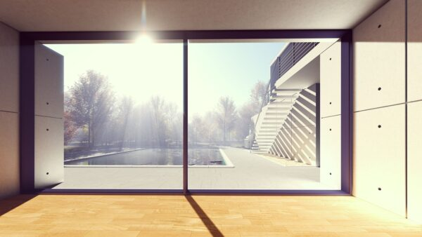 Placas solares en vivendas de lujo