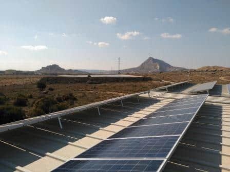 Energía solar para autoconsumo en nave industrial