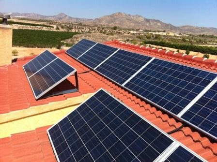 Energía solar para autoconsumo en viivienda