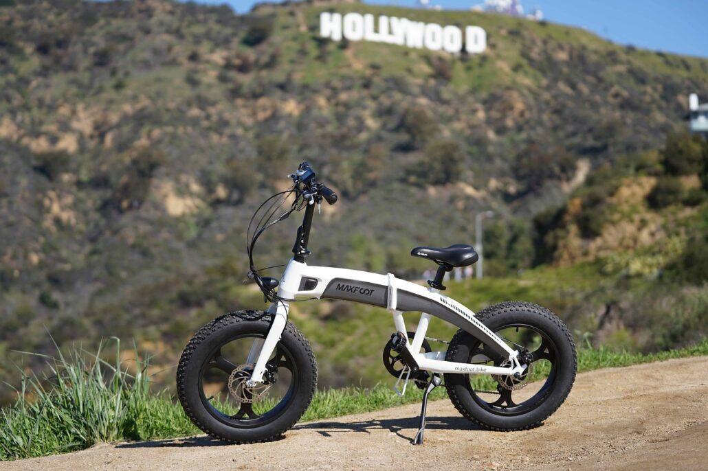 Rueda de bicicleta eléctrica de montaña