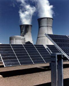 Energías renovables y fósiles