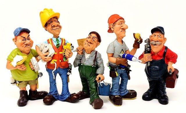 Profesionales para el mantenimiento del edificio