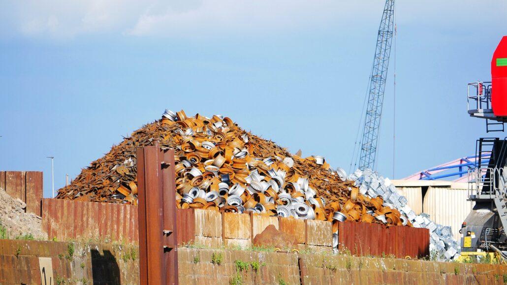 Materiales reciclados: gestión de chatarra