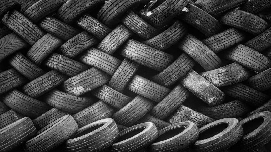 Materiales reciclados: ruedas